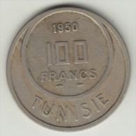 @Y@  Tunesie  100 Francs  1950   (2948) - Tunisie