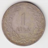 @Y@  Turkije  1 Lira  1948   (2949) - Turquie