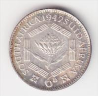 @Y@  Zuid / Sud  Afrika   6 Pence   1942    (2954) - Afrique Du Sud