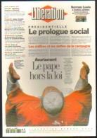 """Carte Postale édition """"Dix Et Demi Quinze"""" - Libération - Avortement Le Pape Hors La Loi (Jean Paul II) - Publicité"""