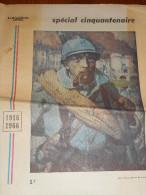 Cinquantenaire de la bataille de VERDUN-1916.1966-suppl�ment de 24 pages du R�publicain Lorrain