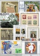 10 Blocks Türkei/Zypern TZ Block 1,2,6 RZ 6,7,10,11,12,14,15 ** 42€ Bloque Hb Ms History Bloc Art Sheet Bf Turkey/Cyprus - Stamps