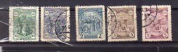 1929 St Wencelas Y 258  -  262 Mi 283- 287 - Used Stamps
