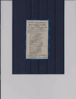 Doodsprentje Maria Jozef Louis Bilsen 1927 (Cortenaeken) - 1929 - Engelenmis Cortenaeken - Religion & Esotérisme