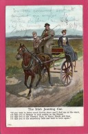 IRLANDE, The Irish Jaunting Car, Animée, Colorisée, 1904 - Ireland