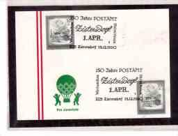 AU55    -    ZISTERSDORF  15.12.1990       /      150 JAHRE POSTAMT - Post