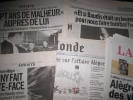 L' Affaire Patrice All�gre, Toulouse : Dossier Compos� De 41 Articles (Lib�ration-Le Monde- La D�p�che Du Midi) Parus En