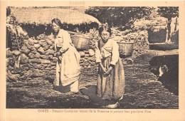 ¤¤  -   COREE   -   Femmes Coréennes Venant De La Fontaine Et Portant Leur Provision D'eau     -  ¤¤ - Corée Du Sud