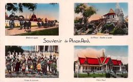 ¤¤  -   CAMBODGE   -   Souvenir De PHOM-PENH   -  Multivues     -  ¤¤ - Cambodge
