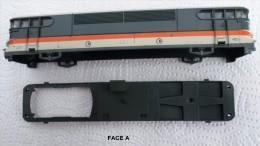 HO -LIMA  CAISSES AVEC CHASSIS LOCO CORAIL SNCF   PIECES D´ORIGINE - Locomotives