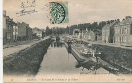 AMIENS - Le Canal De La Somme Et Les Ecluses - Amiens