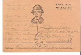 Franchise Militaire Datée Du 7-10-39 - Military Service Stampless