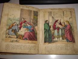 Vie De JESU Avec 45 Belles Images Colorées- Non Datée-Verlag Von C.D.Burk In Stuttgart - Christianisme