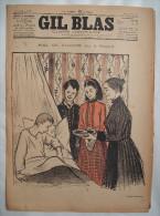 . GIL BLAS . 1895 . N� 2- 13 JANVIER: POIL DE CAROTTE par JULES RENARD.dessins de STEINLEN, BALLURIAU..