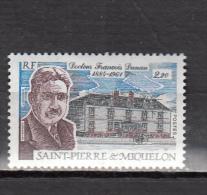 SAINT PIERRE ET MIQUELON * YT N° 476 - Unused Stamps