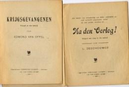 Twee Blijspelen In één Bedrijf : Krijgsgevangenen - Na Den Oorlog - War 1914-18
