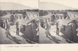 Italie - Pompéi - Archéologie Carte Stéréo - Pompei