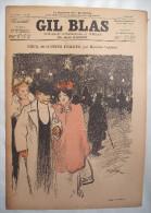 . GIL BLAS . 1896 . N� 19-08 MAI : DEUX HONN�TES FEMMES par MAURICE LEBLANC .dessins de STEINLEN , BALLURIAU ..