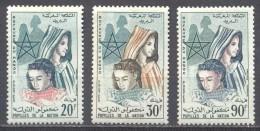 Maroc YT N°431/433 Pupilles De La Nation Neuf ** - Marocco (1956-...)