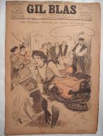 . GIL BLAS . 1893 . N� 45-05 NOVEMBRE: LES PETITES RASTAS par DUBUT de LAFOREST .dessins de STEINLEN , BALLURIAU ..
