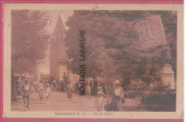 31 - SENGOUAGNET----Place De L'Eglise---cpsm Pf--- R** - Otros Municipios