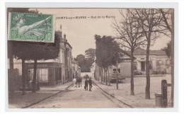 FRANCE -- SEINE & MARNE -- CHAMPS SUR MARNE -- RUE DE LA MAIRIE 1924 -- - Frankreich