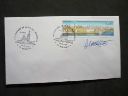 75-e Congrès FFAP 17/05/2002 Marseille Avec Signatuere Du Graveur - 2000-2009