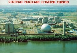CHINON - Cenrtrale Nucléaire D'avoine - Chinon