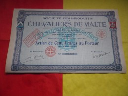 CHEVALIERS DE MALTE  (1935) - Unclassified