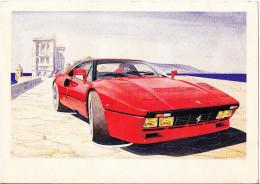 CARTOLINA    FERRARI 288 GTO     NON VIAGGIATA - Turismo