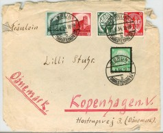 Germany Cover To Danemark - Deutschland
