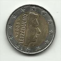2008 - Lussemburgo 2 Euro, - Lussemburgo