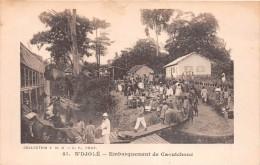 ¤¤  -    41   -   GABON   -  N'DJOLE   -  Embarquement De Caoutchouc    -  ¤¤ - Gabon