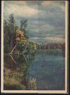 RUSSIA USSR Post Card SHL PC 227 Pushkin City Park - Russie