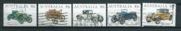 1984 Australia Complete Set Oldtimers,automobiles Used/gebruikt/oblitere - 1980-89 Elizabeth II