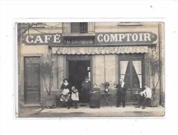 Carte Photo  CAFE, COMPTOIR, G. ARNAUD - Cartes Postales