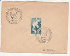 Nancy 1946 - BT Exposition Livre Et Ex-libris - Aigle Et Colombe - Gedenkstempel