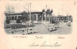 ¤¤  -   UKRAINE   -  ODESSA   -  Le Parc D'Alexandre    -  Oblitération   -  ¤¤ - Ukraine