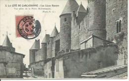 LA CITE DE CARCASSONNE : Les Lices Hautes - Carcassonne