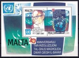 MALTA Block 10 ** (B-1-137) - Malta (Orden Von)