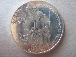 PIECE ARGENT DE 100 FRS   1993   LA LIBERTE GUIDANT LE PEUPLE - France