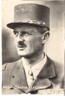 Général LECLERC   Portrait  Képi - Guerre, Militaire