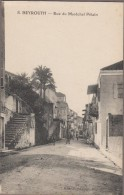BEYROUTH-Rue du Mar�chal P�tain  anim�