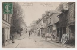 76 SEINE MARITIME - VALMONT Rue De Fécamp, Atelier De Charron - Valmont