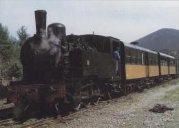 Train à Vapeur Des Cévennes - Arrivée D'un Train De Voyageurs à Saint Jean Du Gard - Locomotive 7 - Saint-Jean-du-Gard