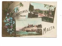 MAL.0035/ Greetings From Malta - Marsamuscetto - Malta