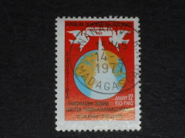 MADAGASCAR YT 605 OBLITERE - OCEAN INDIEN ZONE DE PAIX