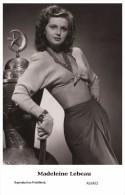 MADELEINE LEBEAU - Film Star Pin Up - Publisher Swiftsure Postcards 2000 - Artistes