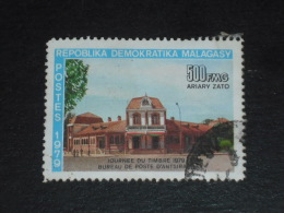 MADAGASCAR YT 633 OBLITERE - JOURNEE DU TIMBRE BUREAU POSTE ANTSIRABE
