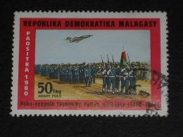 MADAGASCAR YT 638 OBLITERE - ARMEE MALGACHE